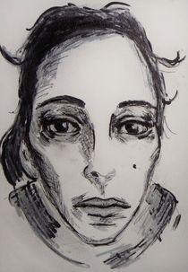 Portrait,Melancholie,Frau by nike