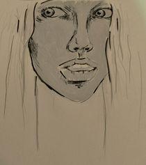Frau,Portrait,grau,Menschen by nike