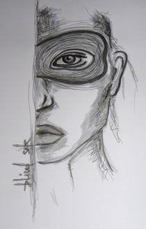Frau,Portrait,Menschen,Stolz,Maske by nike