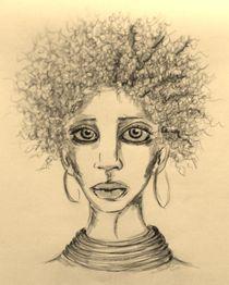 Afro,Portrait,Frau,Menschen,Kultur by nike