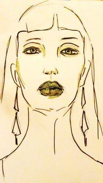 Portrait ,Frau,Menschen,Lippen, by nike