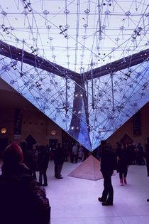 Invertierte Pyramide, Louvre von René Aigner