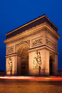 Arc de Triomphe am Abend, Paris by René Aigner