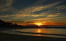 Sonnenaufgang am Mittelmeer by Klaus Dolle