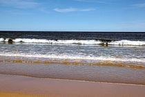 Himmel, Wellen, Strand by rubyred