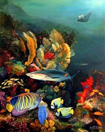 Rifffische von Veronika Gessl