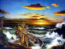 Rahschiff Hansy  von Veronika Gessl