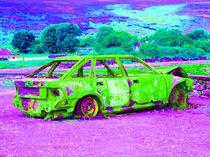 Regenbogenauto by Gabi Kaula