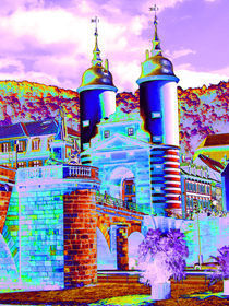 Farbenfrohes Heidelberg von Gabi Kaula