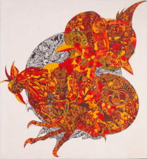 Der Rote Hahn von Viktoria Anne Scheliga