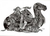 Kamel konsterniert von Viktoria Anne Scheliga