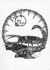 Skorpion von Viktoria Anne Scheliga