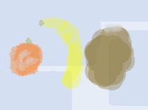 Die Orange, die Banane, die Kokosnuss von Patric Weingart