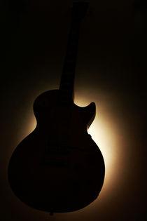Gitarre im Gegenlicht von rebeccas