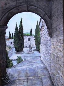 Klosterruine by Elisabeth Maier
