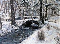 Winter am Bach by Elisabeth Maier