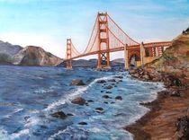 Golden Gate Brigde von Elisabeth Maier