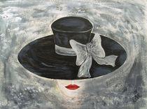 Frau mit Hut by Elisabeth Maier
