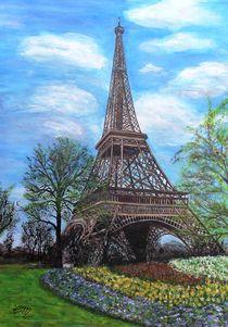 Frühling am Eiffelturm by Elisabeth Maier