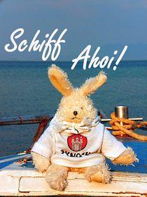 Schiff Ahoi, skyo der Hamburg Hase by Sonja R. Klein