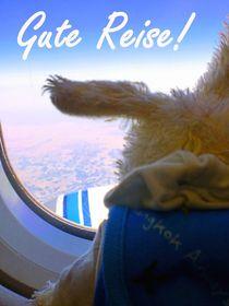 Gute Reise!, skyo der Hamburg Hase
