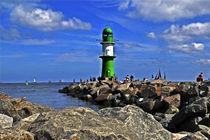 Leuchtturm Warnemünde von captainsilva
