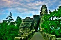 Basteibrücke von Hans Haller