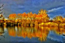 Colourful lake von Hans Haller