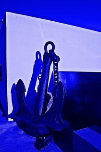 Blue anchor von Hans Haller