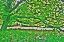 Green Dream by Hans Haller