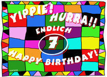 7. Geburtstag von helmerichs