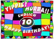 10. Geburtstag von helmerichs