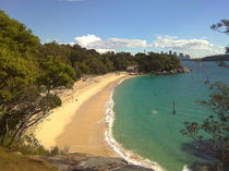 Nielson Park Beach - Sydney by alinekuhaupt