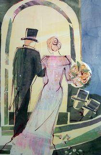 Brautpaar by Heike Jäschke