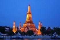 Wat Arun - Tempel der Morgenröte by lucie