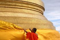 Buddhistischer Mönch von lucie