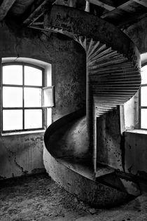 Schönheit des Verfalls - Mühle by Marc Mielzarjewicz