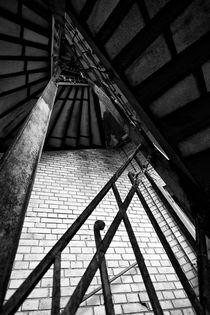 Schönheit des Verfalls - Treppe by Marc Mielzarjewicz