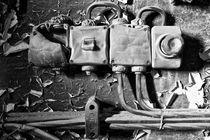 Schönheit des Verfalls - Stromausfall von Marc Mielzarjewicz