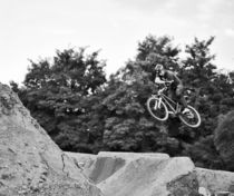 Moutainbike Freestyle by Christiane Klaus