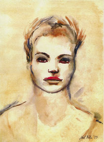 Frauenporträt von Noel Koehn