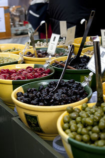 Olive stall by George Kay