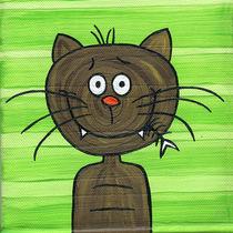 `FUNNY CAT - FISH´ von kamikatze