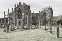 Melrose Abbey by Jürgen Klust
