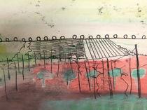 Frühling am Weinberg von Sandra Göckeritz