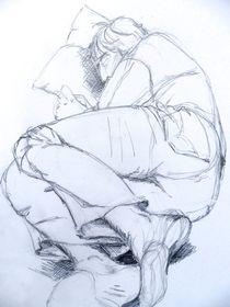 Schlafender Mann von Sabine Berger