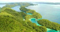 Palau - Rock Islands Aerial III by marcowand