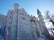 Schloß Neuschwanstein im Winter by mytown