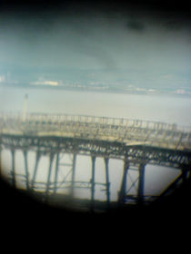Weston Super Mare - The Old Pier  von Victoria collins