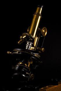 Altes Mikroskop von 1890 von Christian Dahm